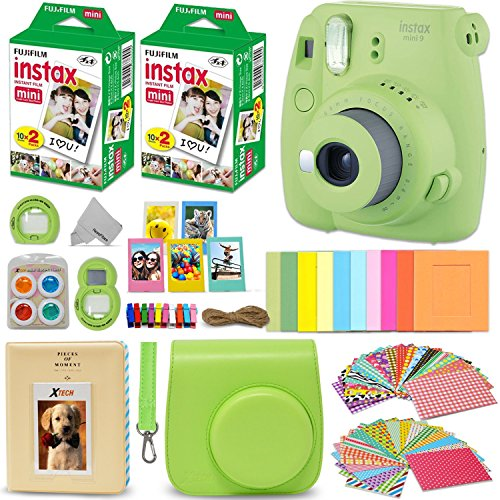 Lime Green for Mini 9 Camera instax Neck Strap